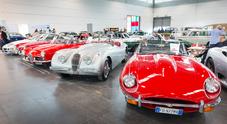 """Legend Cars: 1.350 gioielli storici in vendita a Verona. In """"vetrina"""" Ferrari, Porsche, Jaguar e Mercedes"""