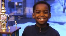 Da baby senzatetto a campione di scacchi: il lieto fine di Tani, bimbo profugo di 8 anni