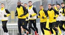 Bolt, è il giorno del provino con il Borussia. Ovazione al gol su calcio di rigore