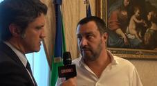 Sicurezza Stadi, Matteo Salvini a Leggo: «Le società devono pagare per le forze dell'ordine, tagliassero gli ingaggi ai loro campioni»