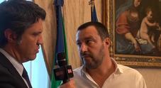 Matteo Salvini a Leggo sulle Olimpiadi «Mi piacerebbe tantissimo farle in Italia. Se servirà faremo la nostra parte»