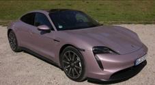 Porsche Taycan, la trazione posteriore debutta nell'era elettrica