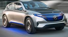 Generation EQ concept, ecco l'apripista delle elettriche future di Mercedes