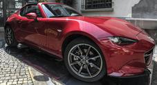 Mazda, il look e la tecnologia della MX-5 RF protagonista della Design Week