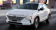 Nexo Fuel Cell, passerella a Las Vegas per il nuovo Suv ad idrogeno di Hyundai