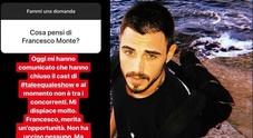 Francesco Monte non farà parte di Tale e quale Show, a rivelarlo Gabriele Parpiglia