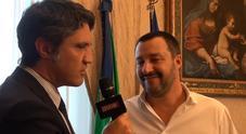 Matteo Salvini a Leggo: «Il consenso mi farà montare la testa? No, lavoro e poi ancora lavoro. Faccio la spesa, prendo i mezzi. Non c'è pericolo»