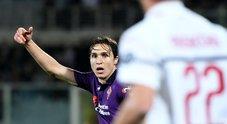 Fiorentina-Milan, le foto del match