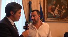 L'intervista del direttore di Leggo Davide Desario a Matteo Salvini
