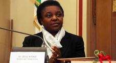 L'eurodeputata Pd Cécile Kyenge