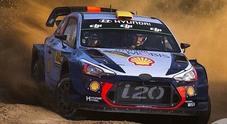 WRC, Mikkelsen (Hyundai i20) davanti a tutti nel Rally di Catalogna