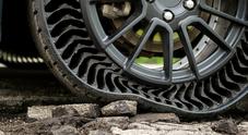 Michelin Uptis, pneumatico senz'aria che non teme buche e chiodi