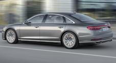"""L'Audi A8 sa leggere la strada, nell'ammiraglia le sospensioni diventano """"predittive"""""""