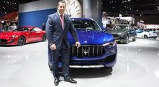 Maserati, Bigland: «La Levante farà il 50% delle vendite. Puntiamo molto sulla Cina»