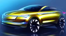 Skoda Vision E, il futuro elettrico ed autonomo del marchio boemo passa per Francoforte