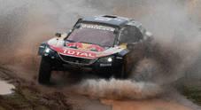 La Peugeot di Peterhansel ruggisce nell'8^ tappa. Sainz conserva la vetta davanti alla Toyota di Al-Attiyah