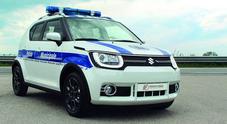 L'ibrido Suzuki per le auto della Polizia Municipale