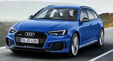 Vestito elegante, muscoli poderosi: Audi, fascino e grinta della griffe RS