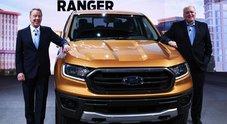 Ford accelera sui veicoli elettrici, 11 miliardi di dollari di investimenti entro il 2022