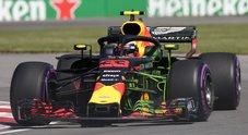 Gp Canada, prime libere alla RedBull di Verstappen, poi Hamilton. Ferrari di Vettel il 4° tempo