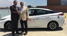 """""""Yuko with Toyota"""", a Venezia arriva il nuovo servizio car sharing hybrid"""
