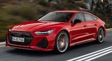Audi RS7 Sportback: grinta da supersportiva, comfort da coupé di lusso