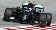 Bottas il più veloce nel 1° turno libero del GP di Spagna, Ferrari quarta e quinta con Leclerc e Vettel