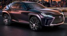Lexus UX, concept dallo stile raffinato con soluzioni innovative che anticipano il futuro