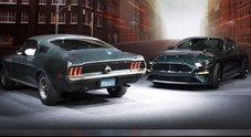 Mustang Bullitt, due miti a confronto 50 anni dopo il film. Ford svela versione speciale della muscle car