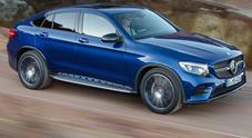 Mercedes GLC coupè, sportività e spirito d'avventura si fondono perfettamente