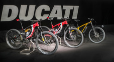 Ducati EBike, le Rosse a pedalata assistita: un tris d'assi da strada e offroad
