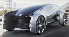 Future-Type, la Jaguar del 2040: elettrica, connessa e condivisa e con il volante intelligente