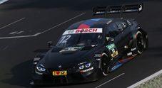 Zanardi, test a Vallelunga con la Bmw M4 prima della gara di campionato a Misano