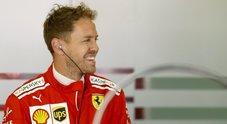 Ferrari, Vettel: «Io mai in pole qui in Spagna? Rimedio domani»