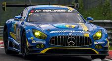La Mercedes domina facendo il poker nella 24 Ore del Nurburgring Nordschleife