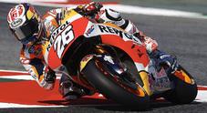 Pedrosa in pole al Montmelò, poi Lorenzo con la Ducati e la sorpresa Petrucci. Vale solo 13°