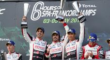 Alonso, prima da applausi. Debutto vincente nella 6 Ore di Spa al volante della Toyota