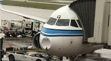 """Paura sul volo Kuwait-Libano: «""""Naso"""" dell'Airbus danneggiato da un blocco di neve»"""