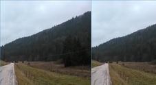 Un'immagine dell'Altopiano prima e dopo l'interramento