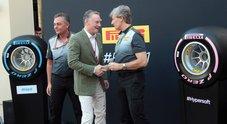 F1, Pirelli presenta le gomme per 2018 con due mescole nuove: l'hypersoft e la superhard