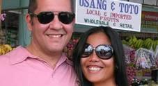Andrea Guarniero è stato ucciso nelle Filippine il 28 marzo. Era sposato con Cyril