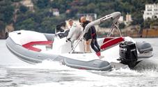 """MV Marine, debutto """"in casa"""" per il gommone 25 GT motorizzato con il fuoribordo Suzuki da 200 hp"""