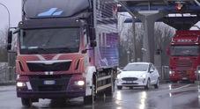 FOUR, il piano per una logistica sostenibile: camion elettrici per abbattere l'inquinamento