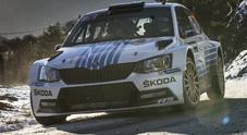 Montecarlo, la Skoda Fabia R5 di Mikkelsen dominatrice: 7° assoluto e prima tra le WRC2
