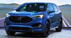 Ford Edge, il restyling parte dagli Usa: nuovi allestimenti e più sicurezza. C'è anche la versione ST