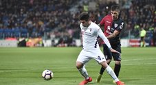 Cagliari-Fiorentina: gli scatti dal campo