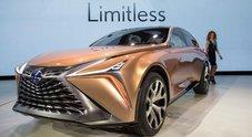 Lexus LF-1 Limitless, l'ammiraglia del futuro è a ruote alte ed ipertecnologica