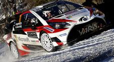 """Toyota """"raggiante"""" al rientro nel WRC: a Montecarlo un weekend """"quasi perfetto"""""""