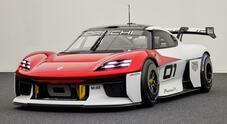 Porsche Mission R concept, la sportiva elettrica a trazione integrale del futuro
