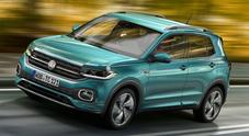 Volkswagen T-Cross, ecco il Suv formato città. Look vivace e grande abitabilità